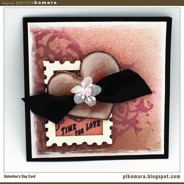 Love Card - Tattered Angels CHA W 2010