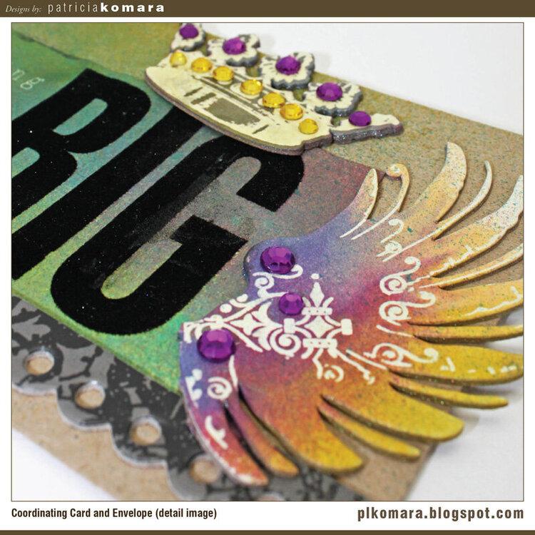 Dream Big Card (detail image)