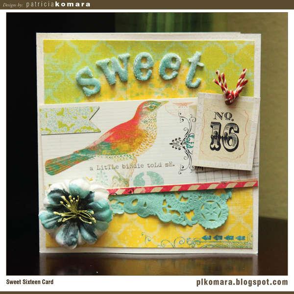 Sweet 16 Card