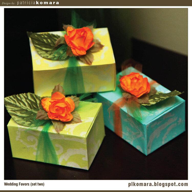 Wedding Favors (set 2)