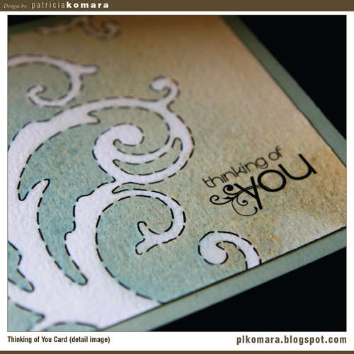Thinking of You Card (detail image)