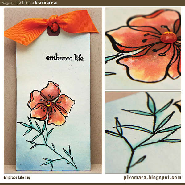 Embrace Life Tag