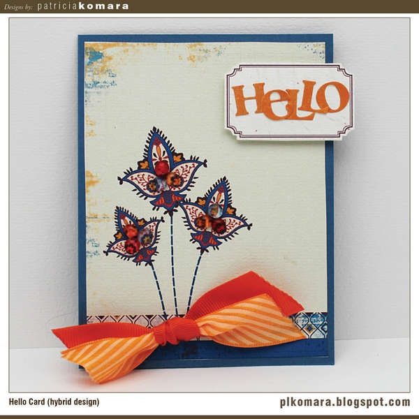 Hello Card (hybrid project)