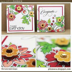 Mini Cards (hybrid design)