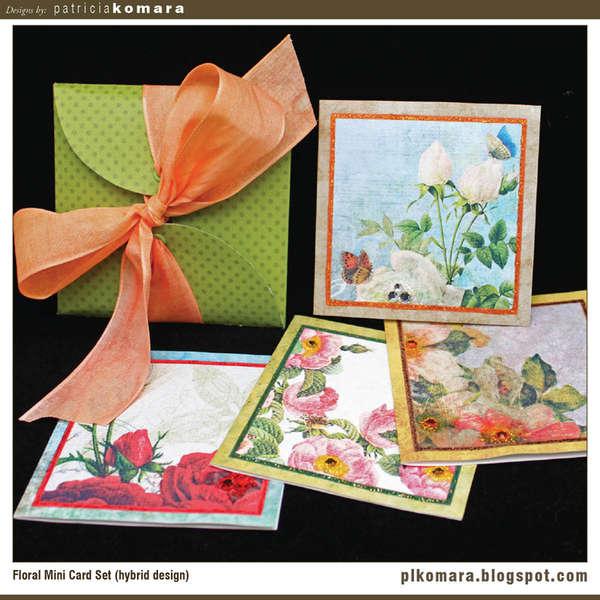 Floral Mini Card Set