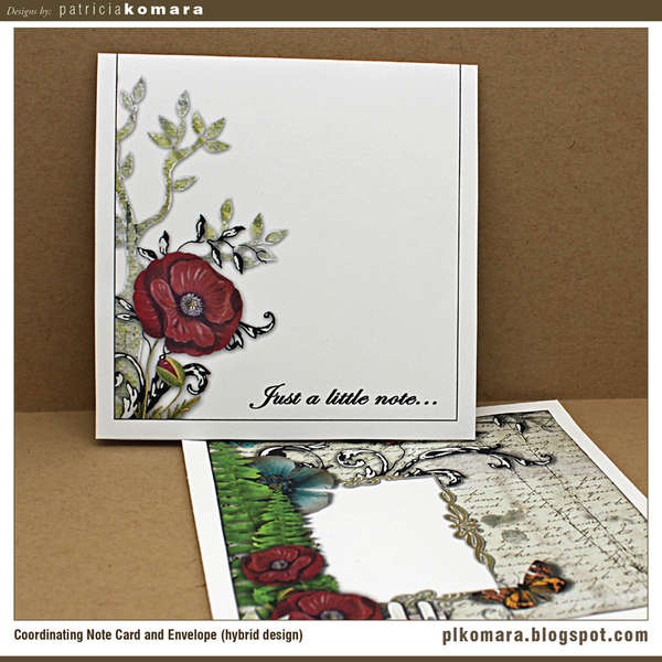 Note Card and Envelope (hybrid)