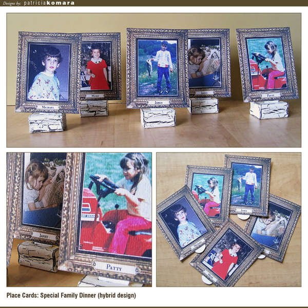 Photo Place Cards