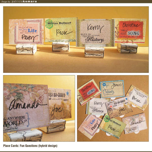Conversational Place Cards