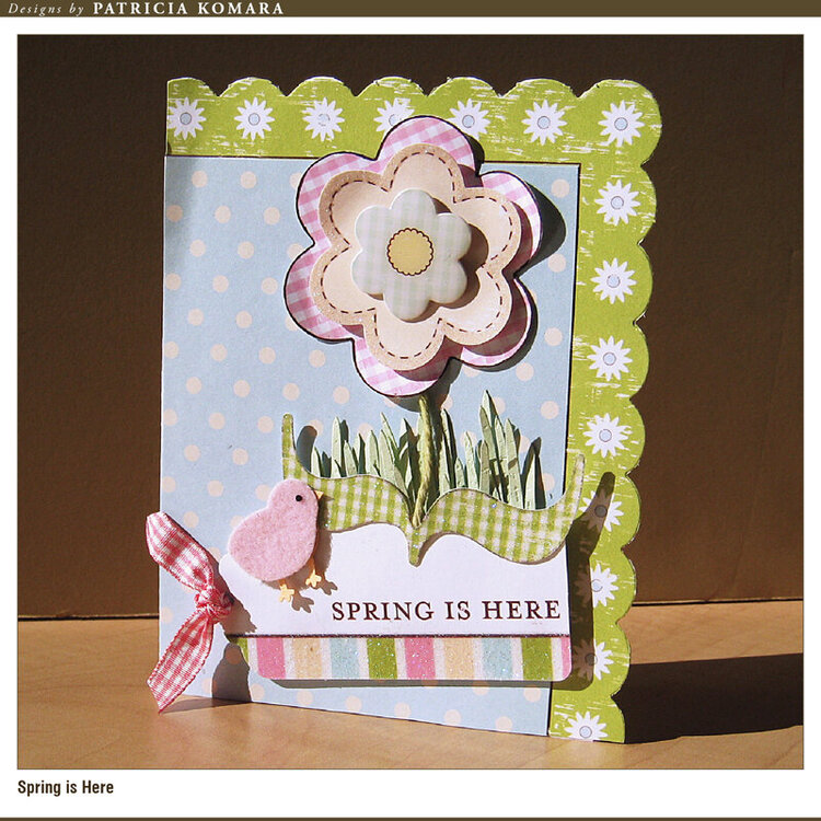 Spring is Here Card