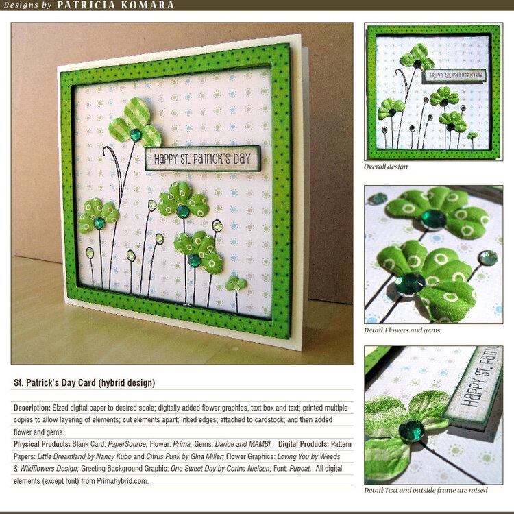 St. Patrick's Day Card (hybrid)