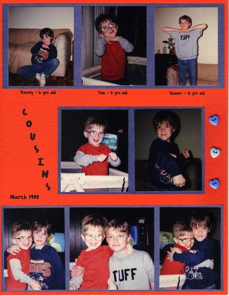 Cousins - March 1988