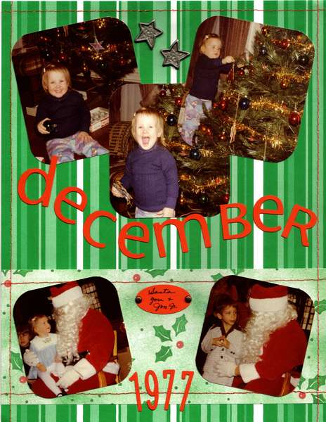 December 1977 (Multi Pic and Laid back Challenge)