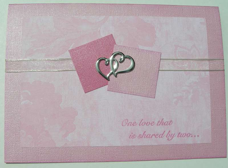Wedding Card - May Card Challenge - Sketch