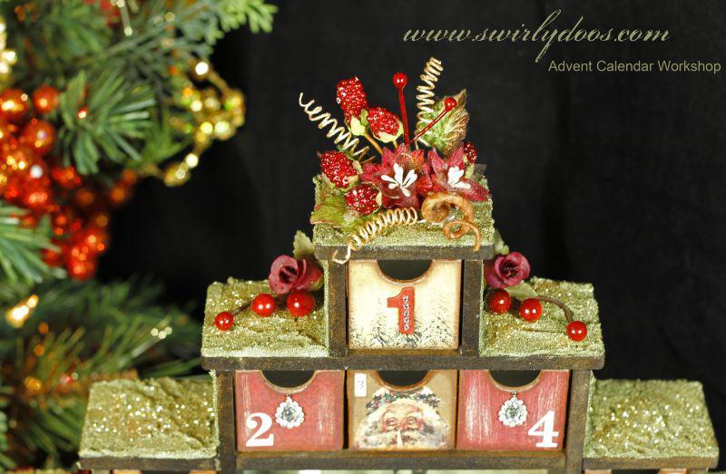 Advent Calendar Class **Swirlydoos Kit Club**