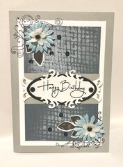 Flower and Flourishes Corners Card