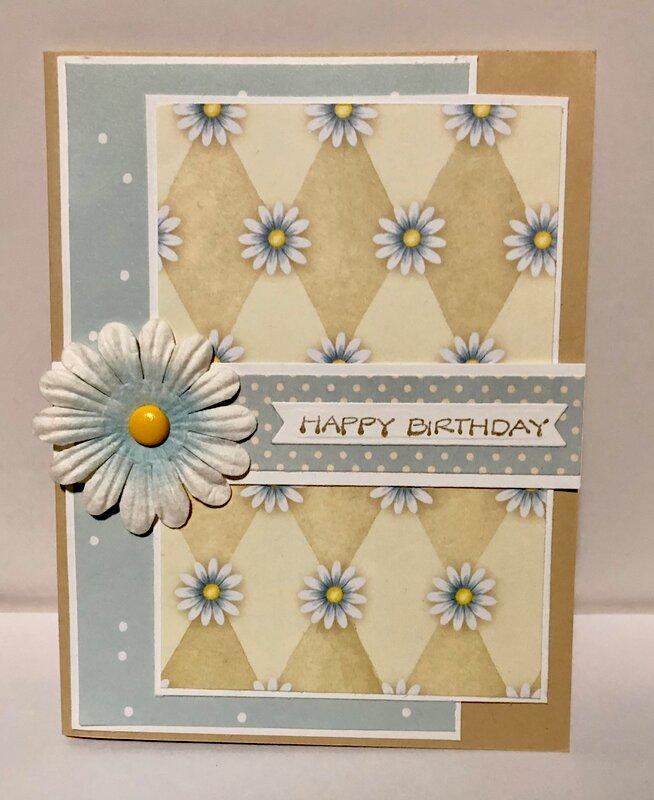Diamond Daisy Card