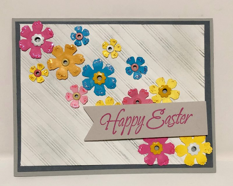 Flowers Easter Card