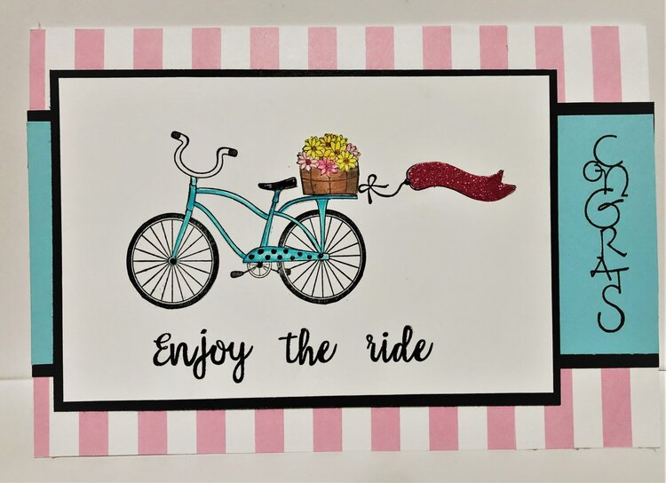 Bicycle Retirement Card