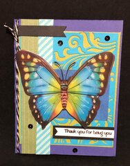 Big Butterfly Card # 2