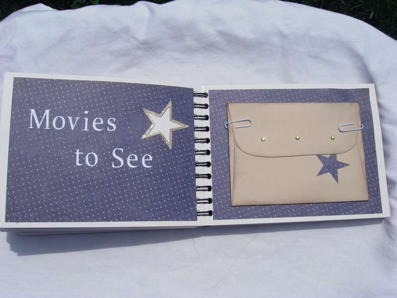 Movies to See Envelope Pages