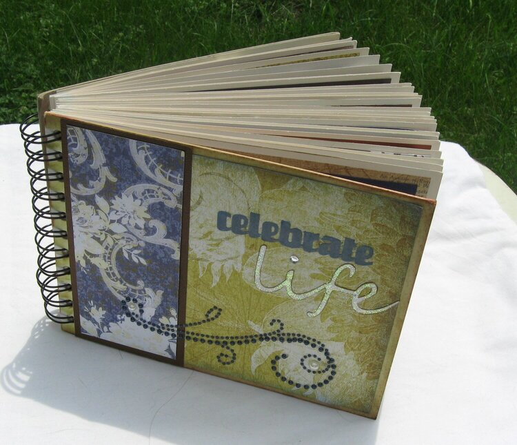 Celebrate Life Journal Cover