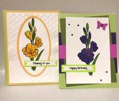 CFK Flower Cards