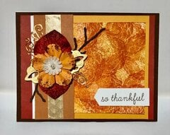 Autumn Thankful Card