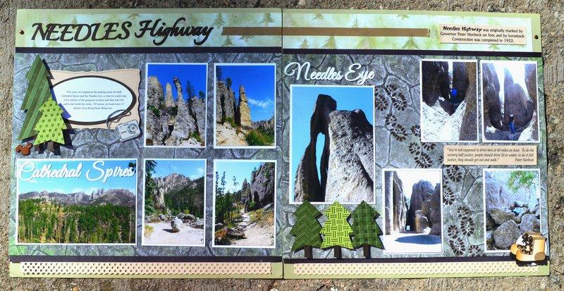Needles Highway 2012 Trip