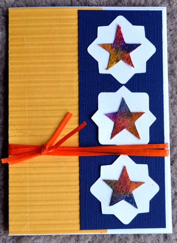 Colored Stars Card