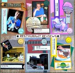 Restaurant Reviews SD 2012 Trip