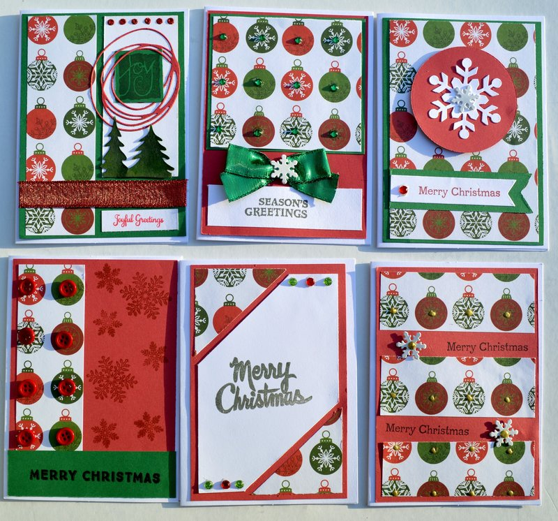 Set 3 of OSW Christmas Cards