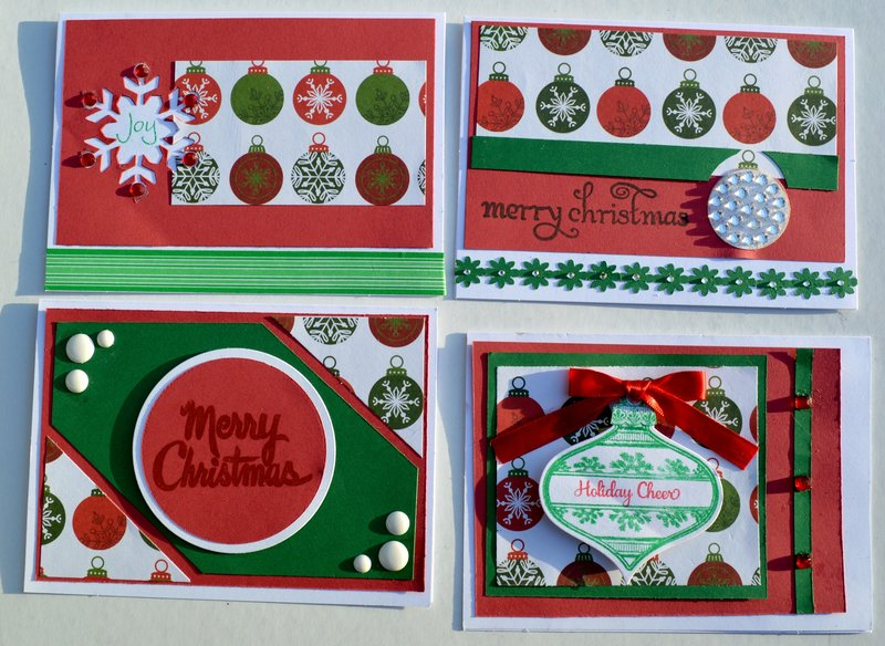 Set 4 of OSW Christmas Cards