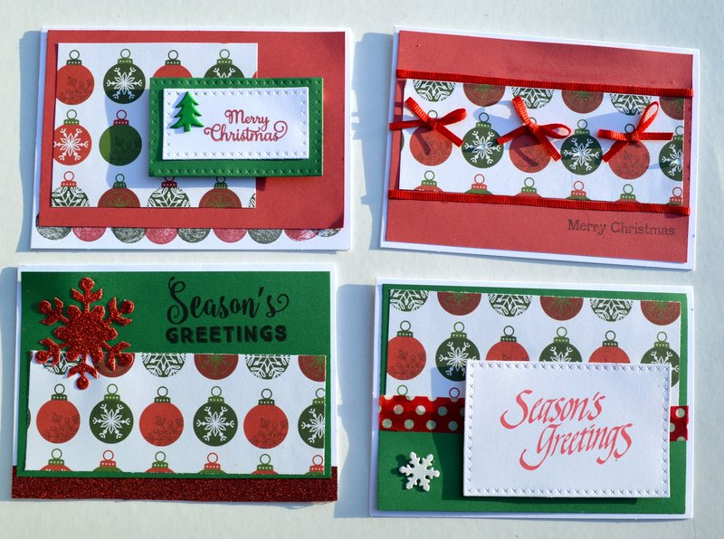 Set 5 of OSW Christmas Cards