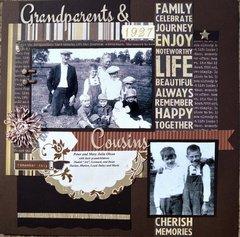 Grandparents & Cousins