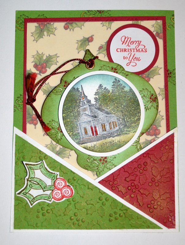 Christmas Ornament Pocket Page