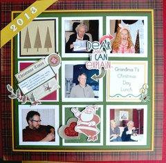 Christmas 2013 Grandma T