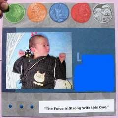 Jedi Baby Album Title Page