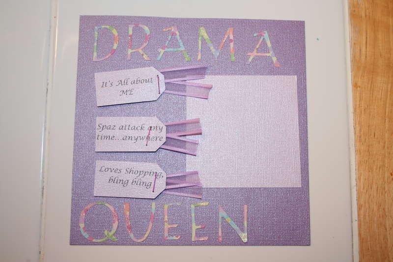 6x6 ABC swap - Drama Queen