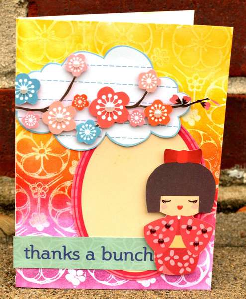 Aiko Thanks card