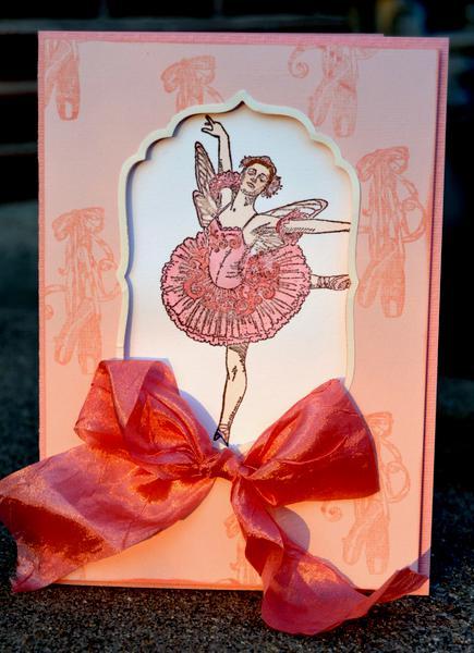 ballerina card