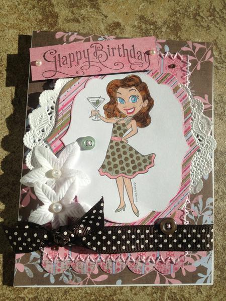 Happy Hour Birthday card
