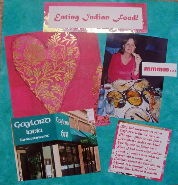 Eating Indian Food
