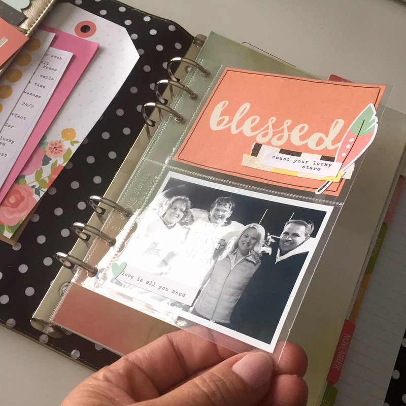 Pocket Pages for your Carpe Diem Planner