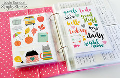 Planner Sticker Storage