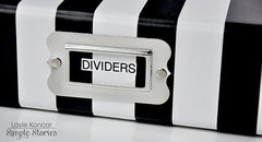 Planner Dividers Storage