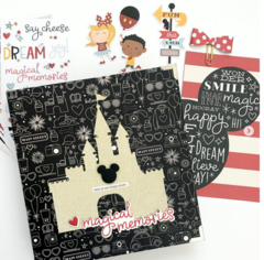 Magical Disney Memories 6x8 Mini Album