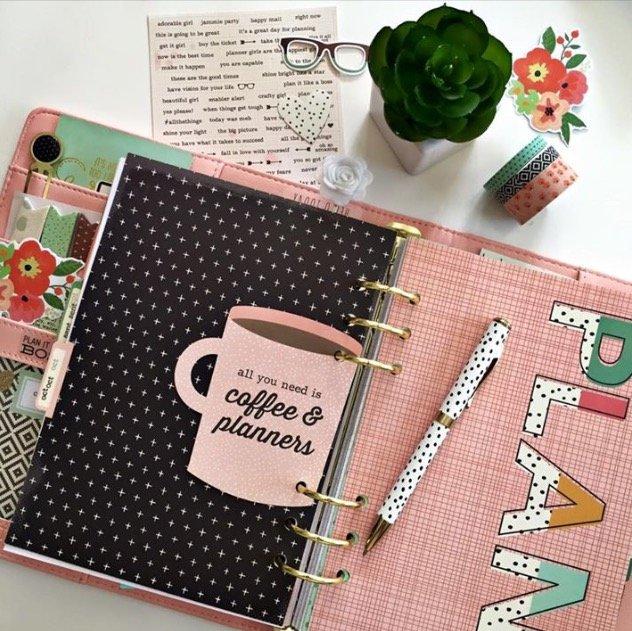 Planning in my Carpe Diem planner