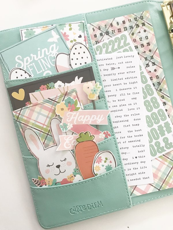 Easter in my Carpe Diem Planner