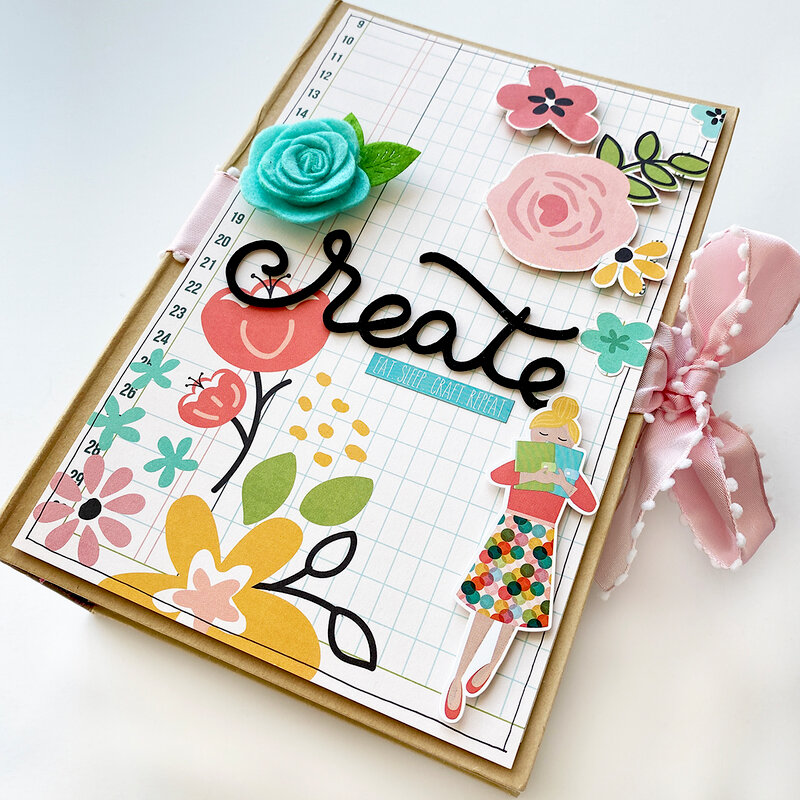 Hey Crafty Girl Mini Book