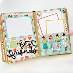 Hey Crafty Girl Mini Book